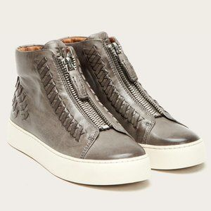 New Frye Lena Whip Zip High Sneakers